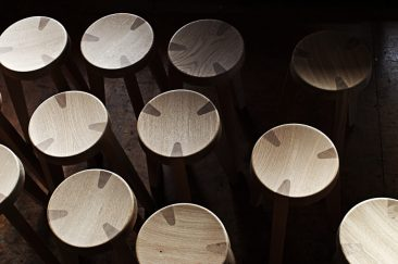 kitchen Stool / Oak