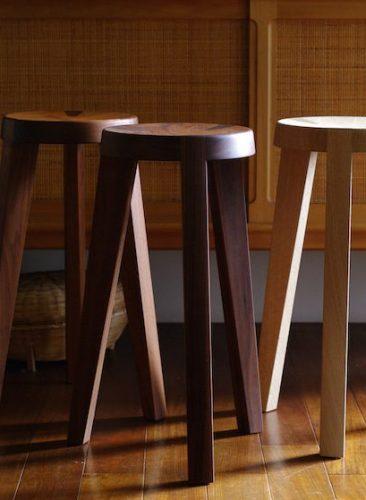 Kitchen stool / WN,OAK